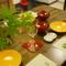 家族のお祝い事に。落ち着いた素朴な雰囲気の会席料理店