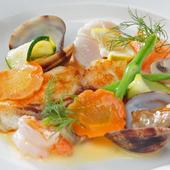 季節の素材のよさを最大限に生かす『本日のお魚』
