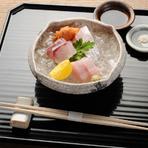 目利きと技で魚の旨みを最大限に引き出す『お造り』