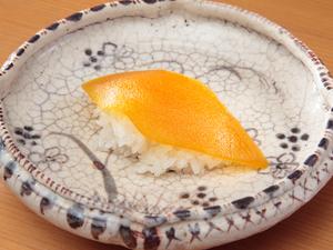 三重県尾鷲産ボラを使った『自家製カラスミ飯(いい)蒸し』