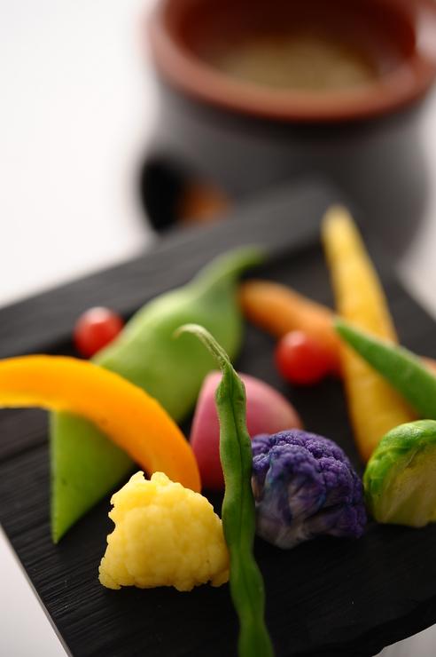 リストランテ・ソット・ラルコのコース料理