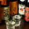 九州の焼酎など、種類豊富なこだわりのお酒に舌づつみ