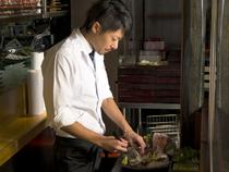 お料理以外にも環境や雰囲気を含めて、楽しい時間を提供します