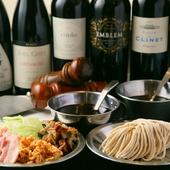 ソムリエが選ぶおすすめワイン。料理とのマリアージュを楽しんで
