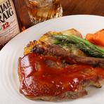 ボリュームたっぷりのケイジャン料理『Memphis ポークリブ BBQ』
