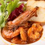 ニューオリンズの代表的なレストランフード『シュリンプ・クレオール』