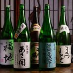 日本酒好きの女将がセレクトした日本酒は定番から季節ものまで