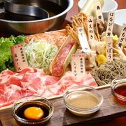 お肉もこだわりの樽前湧水豚。 熟成をかける概念のなかった豚肉で実現しました。