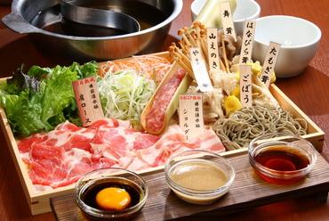 発酵熟成 樽前湧水豚 食べ比べ しゃぶしゃぶランチセット
