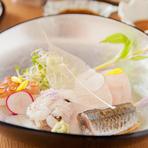 明石で水揚げされる「タコ」や瀬戸内産の新鮮な魚介類