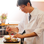 手間ひま惜しまず基本を大切に、しっかりとした和食をつくります