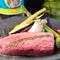 タンの柔らかい食感が癖になる『特上芯タン炭火ステーキ』