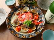 長崎産の甘鯛をうろこつきのままぱりっと焼き上げました。