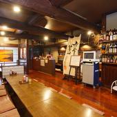 地酒を始め、日本酒メニューは常時15種類ほど