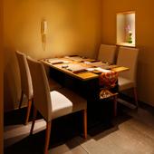 都会の喧騒を離れ、心休まるひと時を過ごせる日本料理店