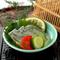 新鮮野菜と上品なすっぽんのハーモニーを堪能『すっぽん煮凍り』