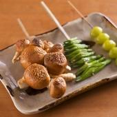 季節野菜も楽しみな『なめこ』『金針菜』『新銀杏』