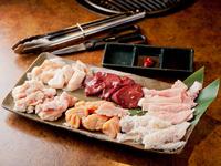 定番の部位から希少部位まで、いろいろなお肉が食べられる