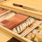 ここでのメニューは店主の『おまかせ』。北海道近海の旬の魚介を中心に厳選した食材が揃います
