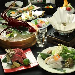旬の素材をふんだんに使用したお料理をお楽しみください 2.5時間飲み放題付き、セパレートでのご提供です