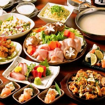 アラカルト料理+飲み放題プラン!クーポン利用で1500円!!