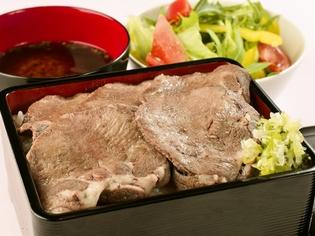 胡麻油ベースの自家製タレが味わい深い『特製牛タン重』