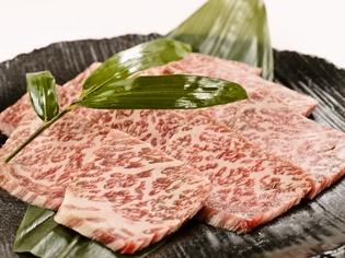 近江牛のロース肉や黒毛和牛A5ランクのロース肉を使用