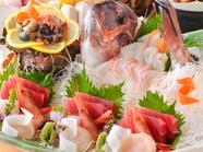 新鮮直送鮮魚お造り《梅》