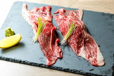 国産A5ランク牛 炙り肉寿司