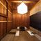 プライベートな時間を満喫できる、和の趣きある個室