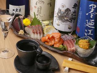 石巻近海で水揚げされた新鮮な魚の『お刺身盛り合せ』