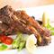 食べて自然に元気になる逸品『ハイボー豚スペアリブのグリル グリーンソース』