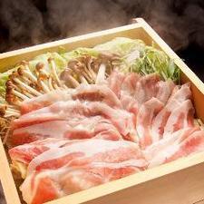 特選豚バラとおろし大根の出汁蒸篭蒸し(2~3人前)