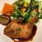 鶏もも肉のコンフィ(日替わりランチ)