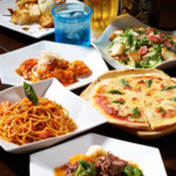 3時間食べ飲み放題・ドリンクグレードアッププラン ¥3450(税別)