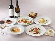 【世界中の】『オマール海老と天然クルマ海老のステーキ』がメインデッシュの海老三昧コース【海老料理】