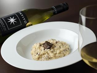 風味豊かな『イタリア産ポルチーニ茸のチーズリゾット』