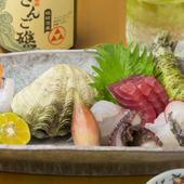 新鮮な魚が盛りだくさん! 『おまかせ造り盛り』