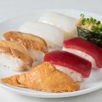 老若男女幅広い客層から支持を得る「寿司」