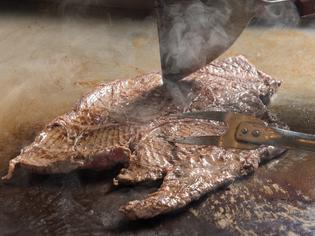 来たら是非食べて欲しい、一番人気の『リブロースステーキ』