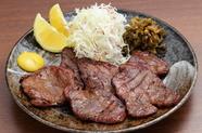 ジューシーな味わい。仙台名物の一つ『牛タン焼き』