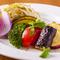 焼肉・すき焼きを彩る「減農薬野菜」や「卵」にもこだわり