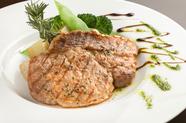 豚肉の旨みたっぷりプレミアム加藤ポーク、肩ロースのハーブグリル』