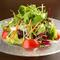 久留里の美味しい水で育った新鮮野菜『12品目の採れたて野菜サラダ』