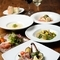 淡路島の新鮮野菜や魚介を使った絶品メニューが味わえる