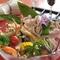 県内の農家より直接仕入れた極旨野菜・肉料理