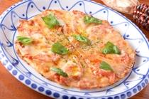 バジルの香りとコクのあるチーズが食欲をそそる『マルゲリータ』