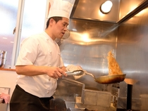 手づくりの温かみを大事にした丁寧な調理法