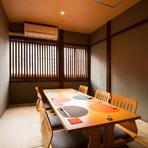 金沢駅近くのビジネスの場に最適、純和風の落ち着いた個室