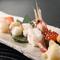 寿司盛り合わせ『吉祥―きっしょう―(十貫)』本鮪・中とろ・ぼたん海老・いくら・うに・たらば蟹 他四点